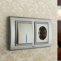 Установка выключателей в Санкт-Петербурге. Монтаж, ремонт, замена выключателей, розеток Санкт-Петербург.